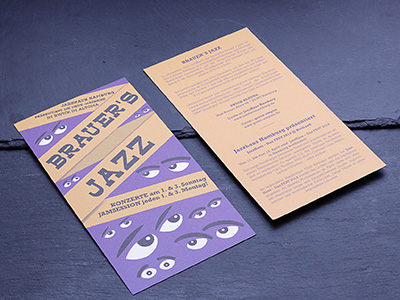 Brauer's Jazz Flyer